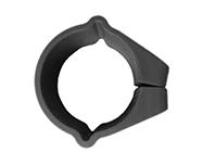 E: Plastic round clamp connection