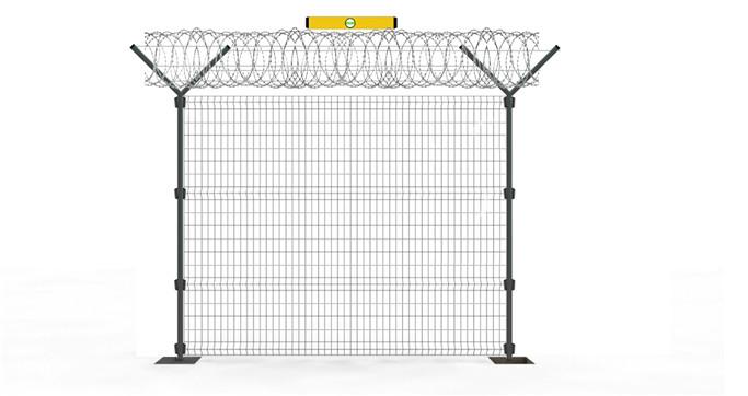Fix the concertina razor wire