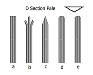 Palisade Fencing d Profile Type